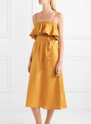 https://www.net-a-porter.com/ca/en/product/1050551/Faithfull_The_Brand/santo-ruffled-linen-midi-dress-
